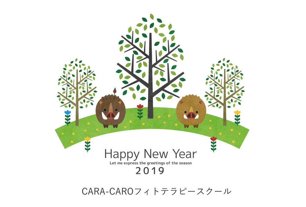 謹賀新年 2019年元旦